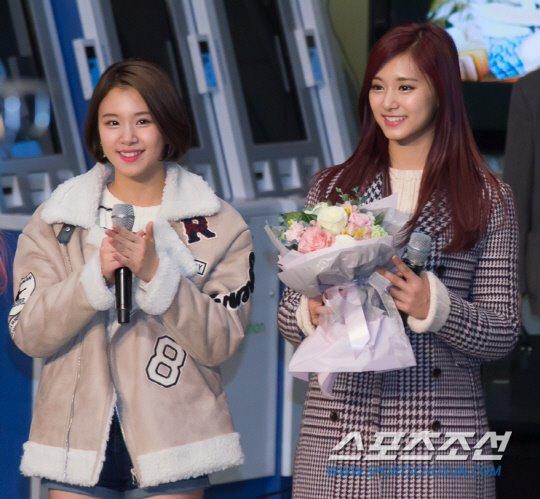 「JYP所属歌手と共に」に出演したTWICEチェヨン ツウィ